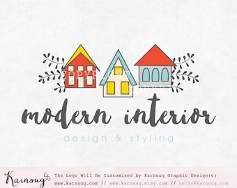 Interior Logo, House Logo, Interior Designer Logo, Premade Logo, Custom Logo, Custom Watermark, Watermark Logo