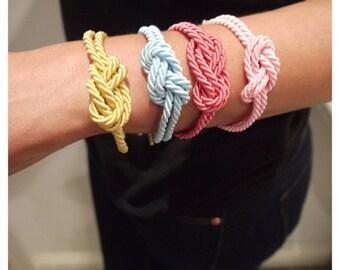 Silk Knot Bracelet