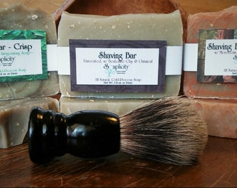 Shaving Soap, All-Natural Assorted Scents