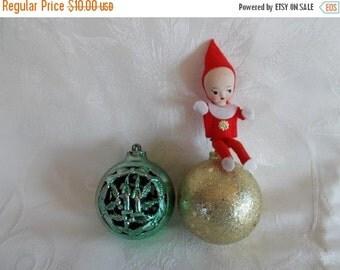 sale Vintage Christmas Tree Ornaments // Lot