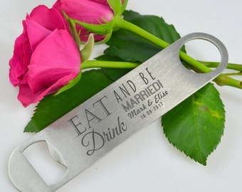 25 x Engraved Barmate  Wedding Favour Gift