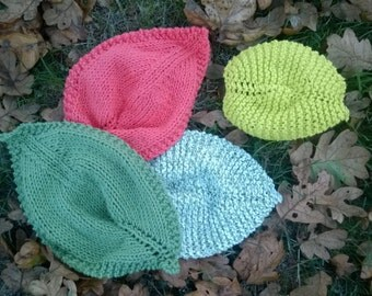 Fall Leaf Dishcloth