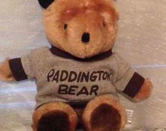 Paddington Bear Wearing a Tshirt