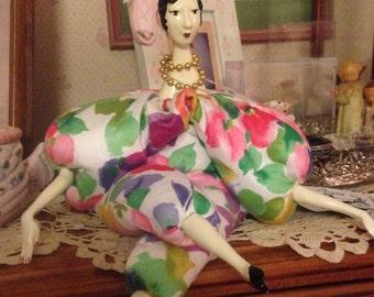 "Birthday Cake ""Poupee by Isabelle"" named Chloe la Princessa"
