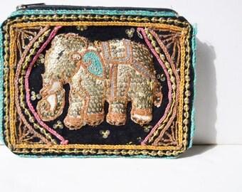 Elephant vintage purse 3d