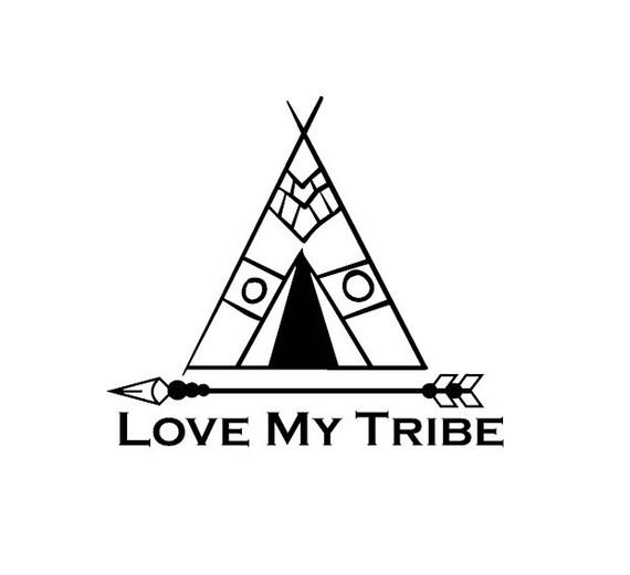 Love My Tribe Vinyl Decal Sticker From Thevinylsweatshop