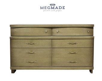 1032-00650 Customizable MCM Bassett Dresser