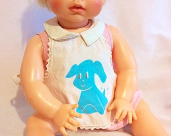 ideal doll real live lucy 20 inch vinyl baby 1960s