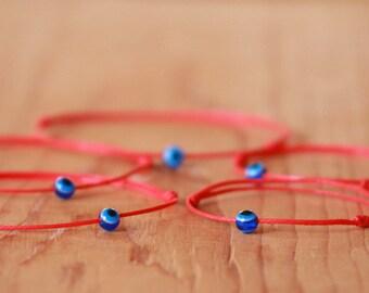 Red string bracelet, Nazar bracelet, Kabbalah bracelet, Evil eye bracelet, Amulet bracelet, Protection bracelet, Friendship Bracelet