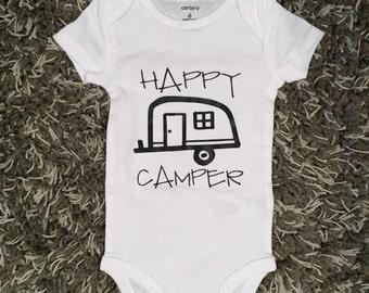 Happy Camper Onesie - Infant Bodysuit