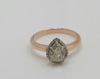 Hand made engagment ring