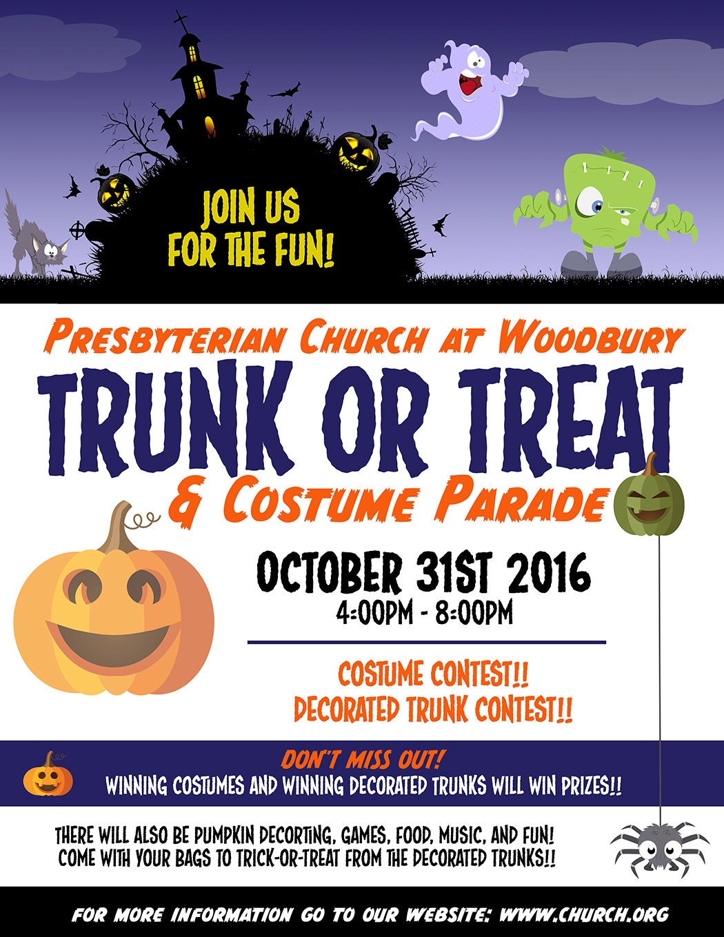 trunk or treat flyer examples radiovkm tk