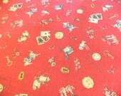 Alice in Wonderland Fabric. Kokka kawaii Alice in Wonderland Fabric. Kokka Fabric