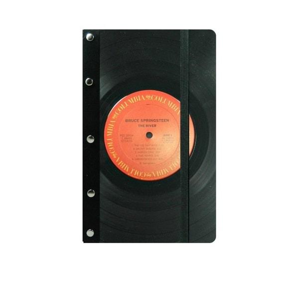 Vinyl Record Book Cover Diy ~ Bruce springsteen composition book cover vinyl record album