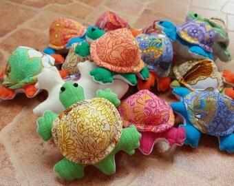 Get 12 Cute Turtle  Dolls Handmade
