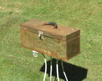 Old Rusty Tool Box Dripping With Character