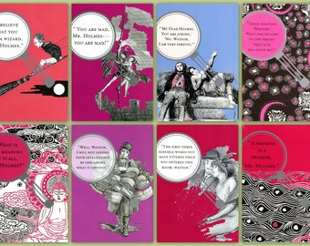 All 8 Sherlock Valentines!