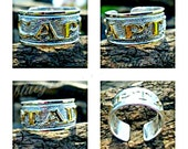Silver CAPTAIN Ring, Ster...