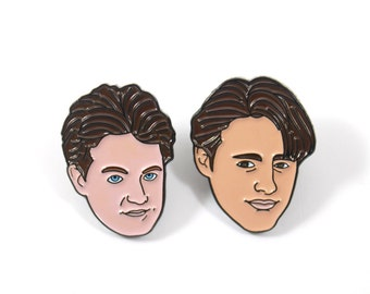 Friends: Joey and Chandler Soft Enamel Pin Pack