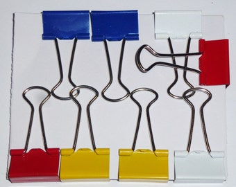 8 pcs - binder clips