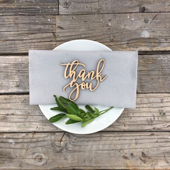 """Thank You Signs 4"""" x 4"""" 