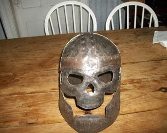 Skull face LARP helm