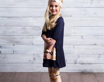 Girls Sweater Dress Etsy