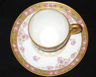 Limoges GDA cup and saucer