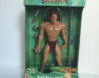 Disney Tarzan Collection, Vintage toy collection, kids toy, Tarzan doll collection