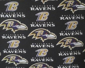 Baltimore Ravens throw  pillow, back solidcolor