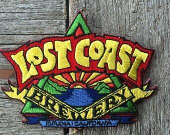 Lost Coast Brewery Eureka California Souvenir Travel Patch
