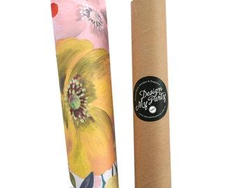 Caroline Gardner Floral Wrapping Paper
