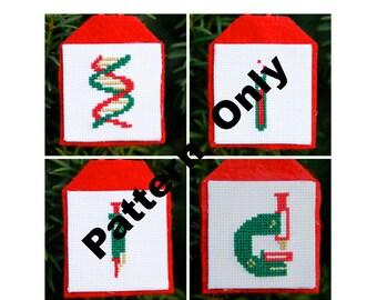 Small Worlds Cross Stitch Pattern