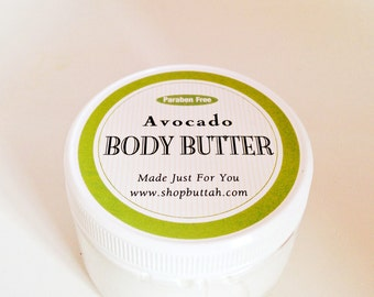 Create Your Own Avocado Body Butter