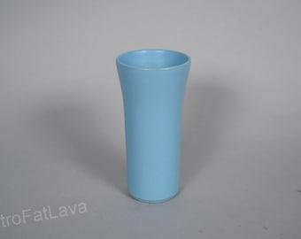 Blue West Germany vase by Steuler  142/20