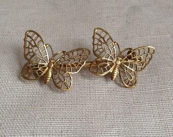 "1920's ""butterflies"" brooch."