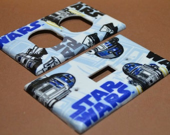 Star Wars R2D2 Lightswitch Cover and Electrical Switch Cover