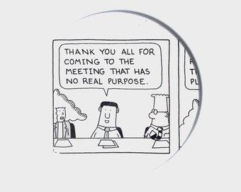 Dilbert Comic Book Coasters