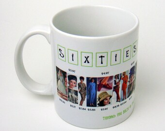 1960s Fashion History Collection Coffee Mug
