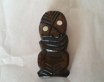 Vintage Maori God
