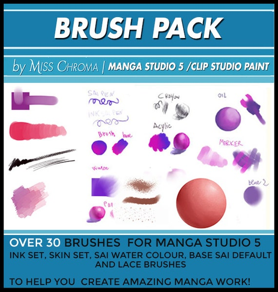 Clip Studio Paint Lace Brush