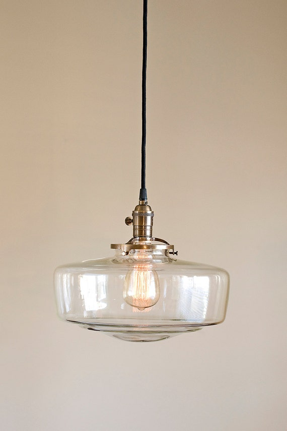 schoolhouse pendant light glass schoolhouse light fixture pendant 10441