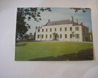 Vintage unused Irish postcard Ardress House County Armagh stately home 17 century from Ireland real photo