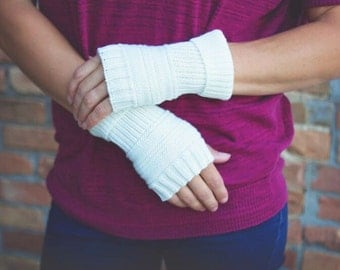 Fingerless Gloves - Hand Warmers - Texting Gloves