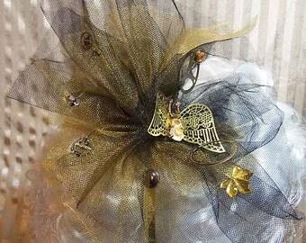 Steampunk Lolita Butterfly Fascinator Headband