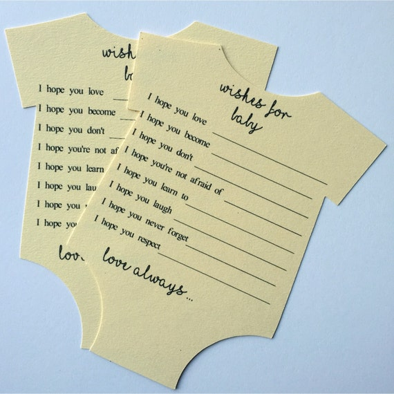 Wishes for baby baby shower game advice for new mom baby for Baby shower ideen