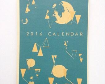 2016 Illustrated Calendar