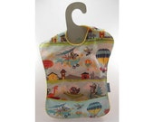 The Sky is the Limit in this waterproof toddler bib (Ready to ship)