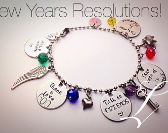 New Years Resolution Bracelet