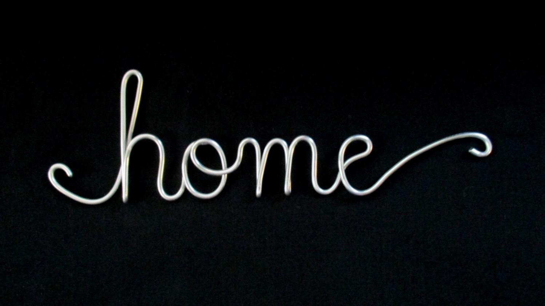 Wire Word Homewire Wordshomewire Script Wordswire Cursive